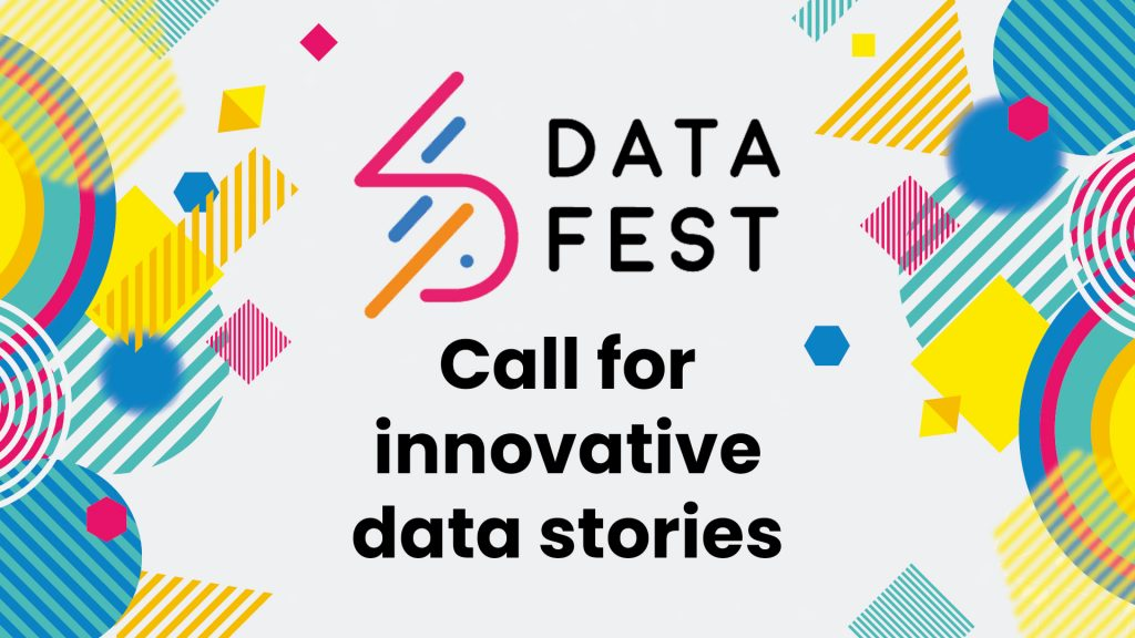 DataFest: Call for innovative data stories
