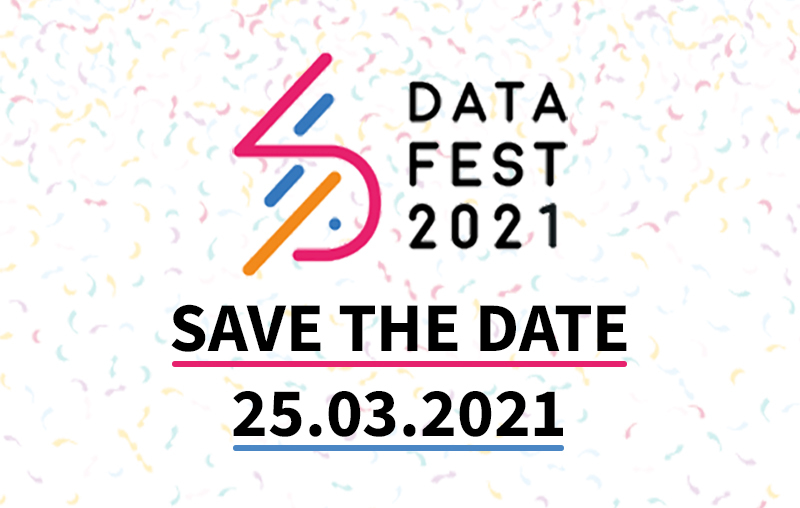 DataFest 2021 Save the date 25th March