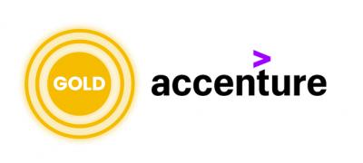 Gold sponsor Accenture