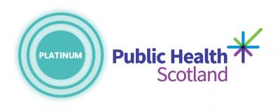 Platinum sponsor Public Health Scotland