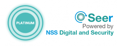 Platinum sponsor Seer - NSS Digital and Security